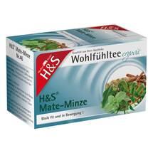 Produktbild H&S Mate-Minze Filterbeutel