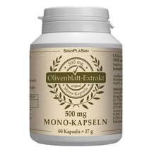 Olivenblatt Extrakt 500 mg Mono-Kapseln