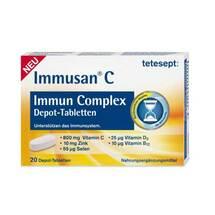 Produktbild Tetesept Immusan C Immun Complex Depot-Tabletten