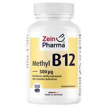Produktbild Vitamin B12 500 µg Methylcobalamin Lutschtabletten