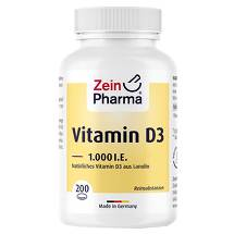 Produktbild Vitamin D3 1.000 I.E. Kapseln