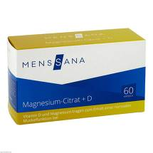 Produktbild Magnesiumcitrat + D Menssana Kapseln