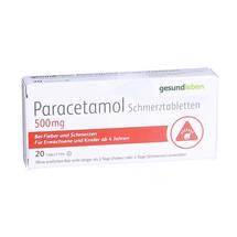Produktbild Paracetamol Schmerztabletten