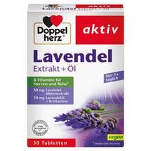 Doppelherz Lavendel Extrakt + Öl Tabletten