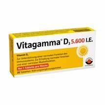 Produktbild Vitagamma D3 5.600 I.E .Vitamin D3 NEM Tabletten