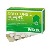 Produktbild Dolotonsil Hevert bei Halsschmerzen Tabletten