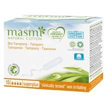 Produktbild Bio Tampons Super Plus 100% Bio Baumwolle Masmi