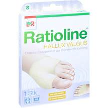 Produktbild Ratioline Hallux valgus Druckschutzpolster Größe S