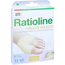 Produktbild Ratioline Hallux valgus Druckschutzpolster Größe M