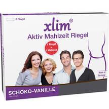Produktbild Xlim Aktiv Mahlzeit Riegel Schoko-Vanille