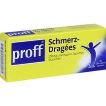 Produktbild Proff Schmerzdragees 200 mg