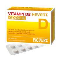 Produktbild Vitamin D3 Hevert 4.000 I.E. Tabletten