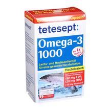 Produktbild Tetesept Omega-3 1000 Kapseln