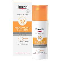Produktbild Eucerin Sun CC Creme getönt mittel LSF 50 +