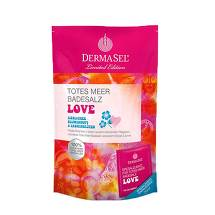 Dermasel Limited Edition Totes Meer Badesalz + Love
