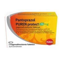 Produktbild Pantoprazol Puren protect 20 mg magensaftresistent Tabletten
