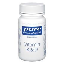Produktbild Pure Encapsulations Vitamin K & D Kapseln