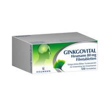 Produktbild Ginkgovital Heumann 80 mg Filmtabletten