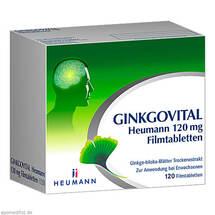 Produktbild Ginkgovital Heumann 120 mg Filmtabletten