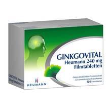 Produktbild Ginkgovital Heumann 240 mg Filmtabletten