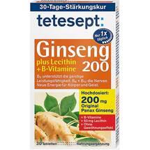 Produktbild Tetesept Ginseng 200 + Lecithin + B-Vitamine Filmtabletten