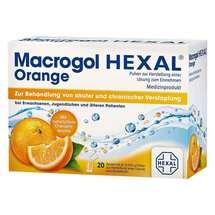 Macrogol Hexal Orange Pulver zur Herstellung einer Lösung zum Einnehmen Beutel