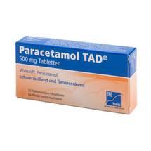 Produktbild Paracetamol TAD 500 mg Tabletten