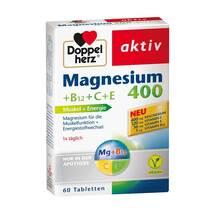 Doppelherz Magnesium 400 + B12 + C + E Tabletten