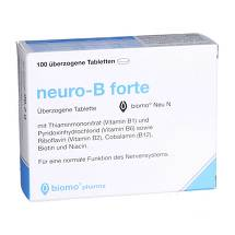 Produktbild Neuro B forte biomo Neu überzogene Tabletten