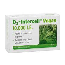 Produktbild D3-Intercell Vegan 10.000 I.E. Kapseln