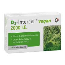 Produktbild D3-Intercell Vegan 2.000 I.E. Kapseln