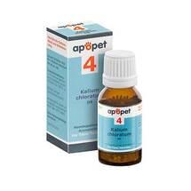Produktbild Apopet Schüßler-Salz Nr.4 Kalium chloratum D 6 vet. (für Tiere)
