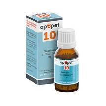 Apopet Schüßler-Salz Nr.10 Natrium sulfuricum D 6 vet. (für Tiere)