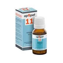 Produktbild Apopet Schüßler-Salz Nr.11 Silicea D 12 Globuli vet. (für Tiere)