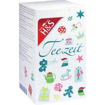Produktbild H&S Adventskalender Teezeit Filterbeutel