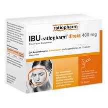 Ibu Ratiopharm direkt 400 mg Pulver zum Einnehmen