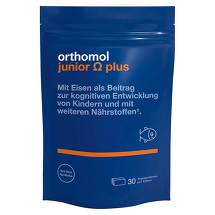 Orthomol Junior Omega plus Kaudragees