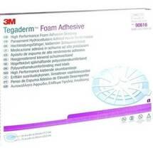 Tegaderm Foam Adhesive 19x22,2 cm oval 90616