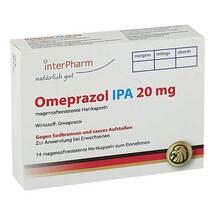 Produktbild Omeprazol Ipa 20 mg magensaftresistente Hartkapseln