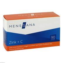 Produktbild Zink + C Menssana Lutschtabletten