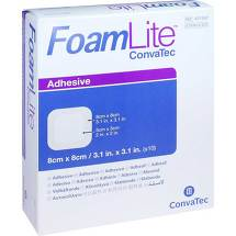 Produktbild Foam Lite Convatec adhäsiv PU-Schaumverband 8x8 cm