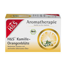 H&S Bio Kamille-Orangenblüte Aromather.Filterbeutel