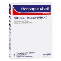 Hansapor steril Wundverband 6x7 cm Erfahrungen teilen