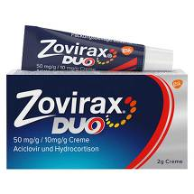 Produktbild Zovirax Duo 50 mg / g / 10 mg / g Creme