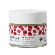 Bio Vegane Moisture Cranberry 24h Pflege Creme