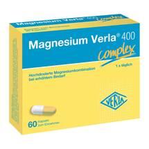 Magnesium Verla 400 complex Kapseln