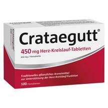 Crataegutt 450 mg Herz-Kreislauf-Tabletten Erfahrungen teilen