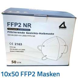 PZN 08031501 Gesichtsmaske, 10x50 St