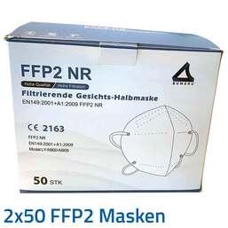 PZN 08031505 Gesichtsmaske, 2x50 St