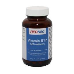 APONEO Vitamin B12 500 aktiviert Kapseln